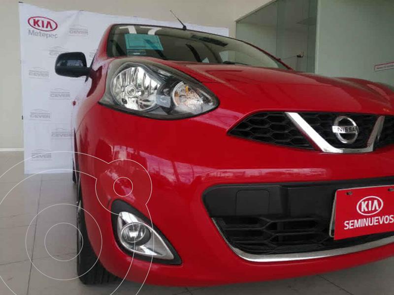 Nissan March SR usado (2017) color Rojo precio $149,900