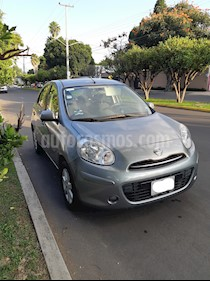 Nissan March Advance Aut usado (2012) color Gris precio $110,000