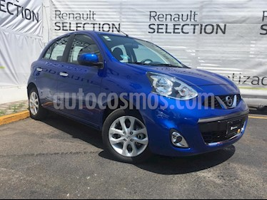 Nissan March Advance NAVI Aut usado (2018) color Azul Electrico precio $175,000