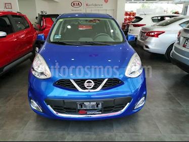 Nissan March 5p Advance L4/1.6 Aut usado (2014) color Azul precio $124,000