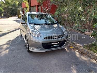 Nissan March SR Aut usado (2012) color Gris precio $115,000