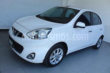 Nissan March 5p Advance L4/1.6 Man usado (2016) color Blanco precio $147,000