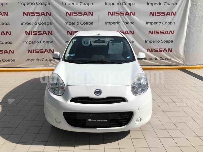 Nissan March Active usado (2015) color Blanco precio $109,000