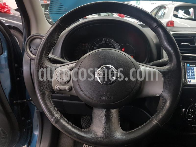 Nissan March SR  usado (2014) color Azul Electrico precio $119,000