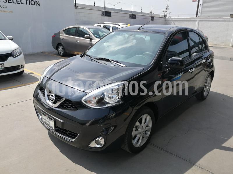 Nissan March Advance Aut usado (2018) color Negro precio $165,000