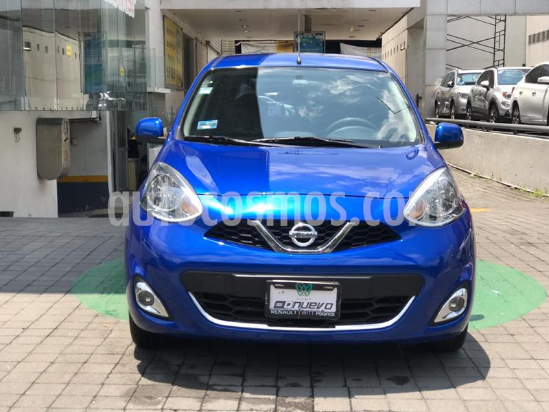 Nissan March Advance usado (2017) color Azul Electrico precio $159,000