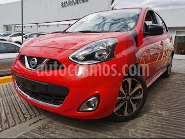 Nissan March SR usado (2018) color Rojo precio $180,000