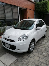 Nissan March Advance Aut usado (2013) color Blanco precio $109,000