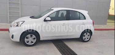 Nissan March Sense  Aut usado (2016) color Blanco precio $125,000