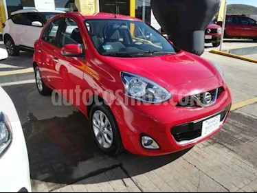 Foto Nissan March 5p Advance L4/1.6 Man usado (2018) color Rojo precio $175,000