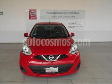 Foto Nissan March 5p Sense L4/1.6 Man usado (2017) color Rojo precio $149,000