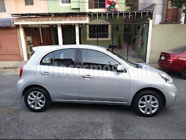 Nissan March Advance NAVI usado (2014) color Plata precio $125,000