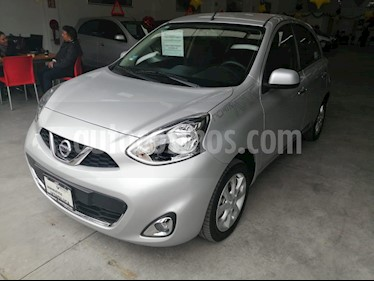 Nissan March Advance usado (2018) color Plata precio $175,000