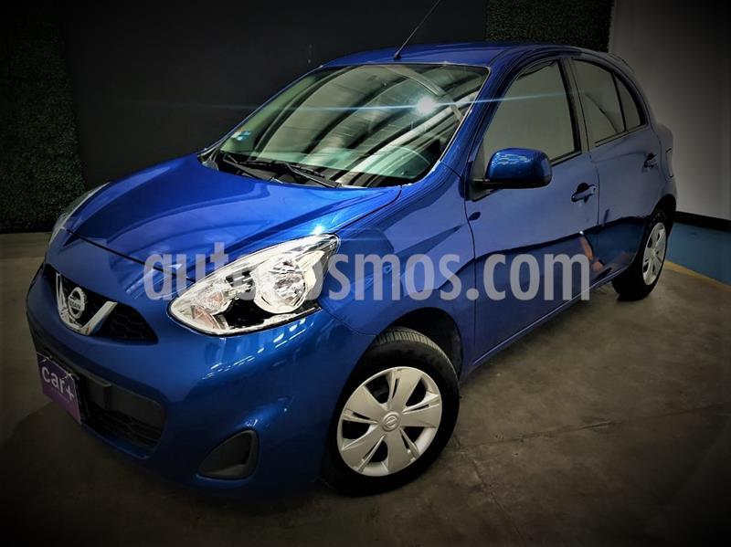 Nissan March Sense  Aut usado (2020) color Azul Electrico precio $179,999
