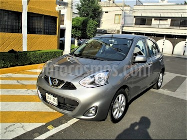 foto Nissan March Advance NAVI usado (2015) color Gris Oxford precio $119,900