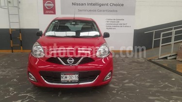Nissan March 5P ADVANCE L4/1.6 AUT NAVI usado (2016) color Rojo precio $159,900