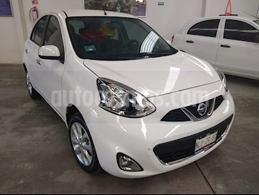Nissan March Advance NAVI usado (2018) color Blanco precio $195,000