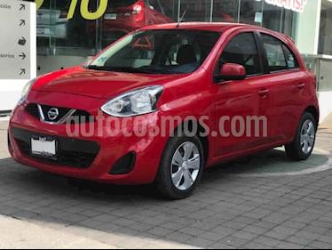 Nissan March Sense usado (2018) color Rojo precio $165,000