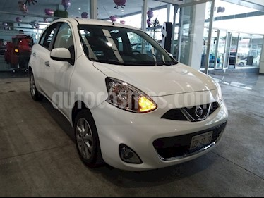 Nissan March Advance usado (2015) color Blanco precio $139,000