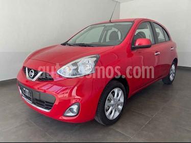 Foto Nissan March 5p Advance L4/1.6 Aut Navi usado (2018) color Rojo precio $170,000