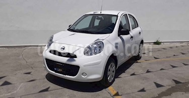 Nissan March 5p Active AC MT usado (2020) color Blanco precio $138,800