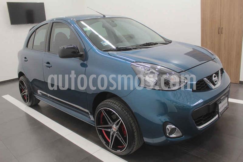 Nissan March SR NAVI usado (2020) color Azul precio $225,000