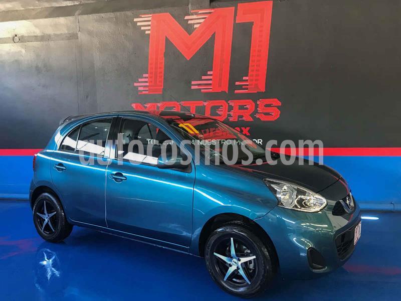 Nissan March Sense usado (2017) color Azul precio $129,900