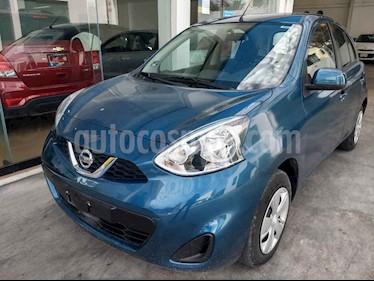 Nissan March Sense Aut usado (2018) color Azul precio $139,900