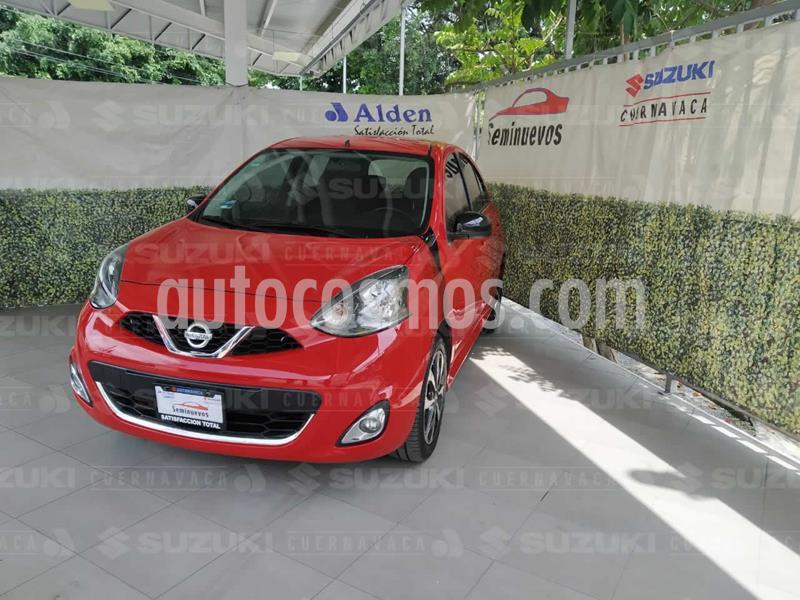 Nissan March SR usado (2017) color Rojo precio $169,000