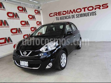 Nissan March Advance Aut usado (2016) color Negro precio $139,000