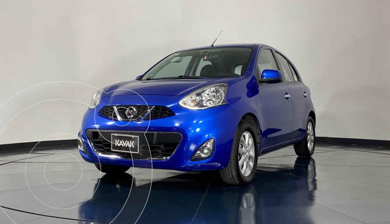 Foto Nissan March Advance usado (2015) color Azul precio $134,999