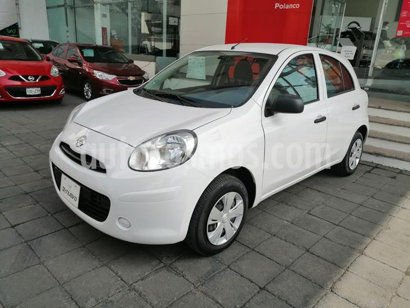 Nissan March Active Cargo Aire Ac ABS usado (2019) color Blanco precio $137,000