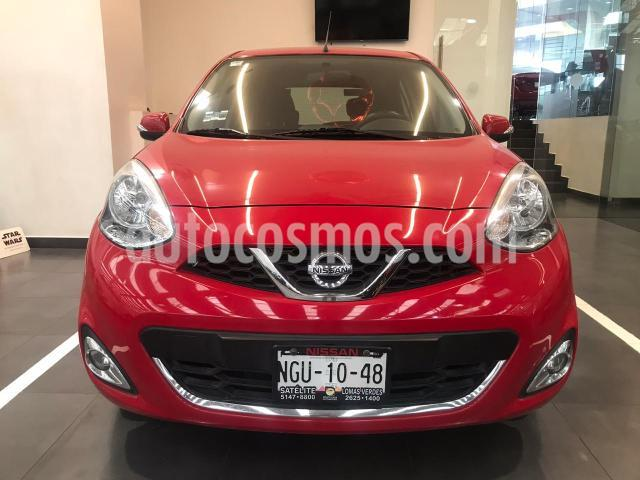Nissan March 5P HB ADVANCE AT A/AC. DA BA CD RA-15 usado (2017) color Rojo precio $157,500