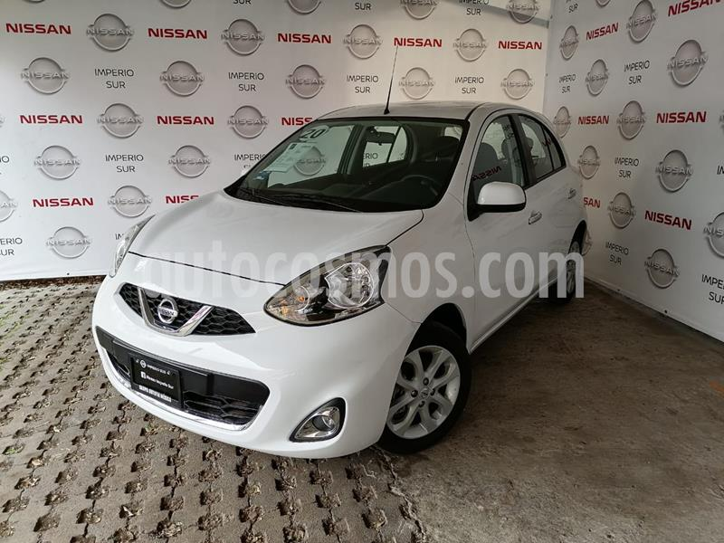 Nissan March Advance usado (2020) color Blanco precio $215,000
