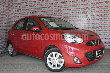 Nissan March Advance NAVI Aut usado (2018) color Rojo precio $185,000