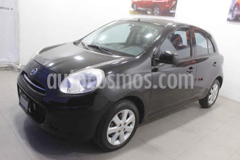 Nissan March Advance Aut usado (2012) color Negro precio $107,000