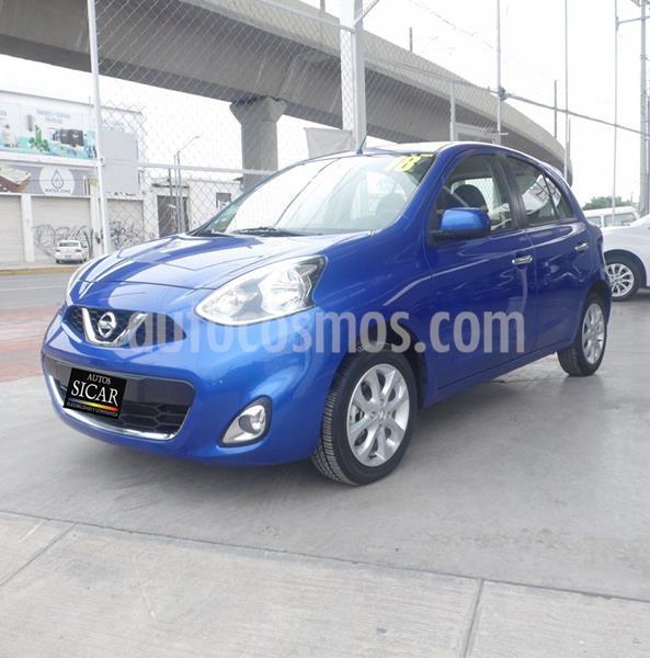 Nissan March Advance usado (2018) color Azul precio $167,000