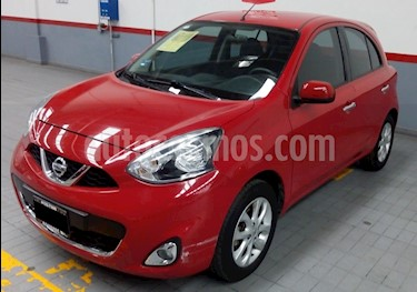 Nissan March Advance usado (2015) color Rojo precio $135,000