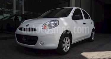 Nissan March 5P HB ACTIVE TM5 A/AC. R-14 usado (2018) color Blanco precio $145,000