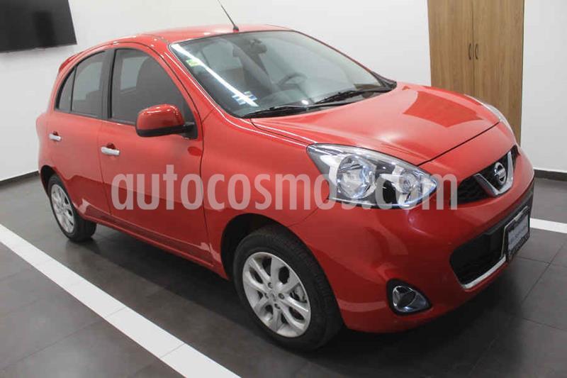 Nissan March Advance Aut usado (2016) color Rojo precio $159,000