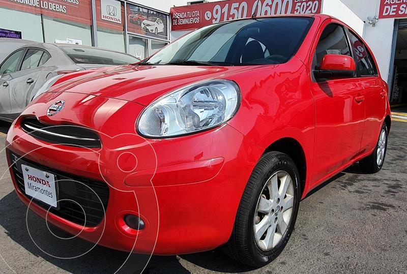 Nissan March Advance usado (2013) color Rojo precio $125,000