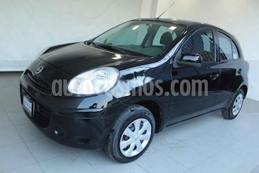 Nissan March 5p Sense 5vel usado (2013) color Negro precio $119,000
