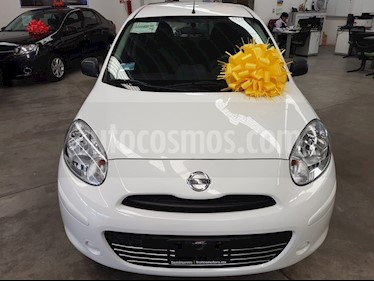 Nissan March Active Aire Ac usado (2018) color Blanco precio $135,000