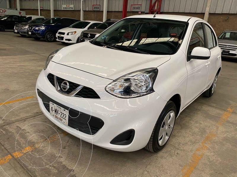 Nissan March Sense usado (2018) color Blanco precio $159,000
