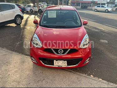 Nissan March Advance usado (2015) color Rojo precio $125,000