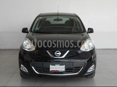 Nissan March 5P ADVANCE L4/1.6 AUT usado (2017) color Negro precio $165,000