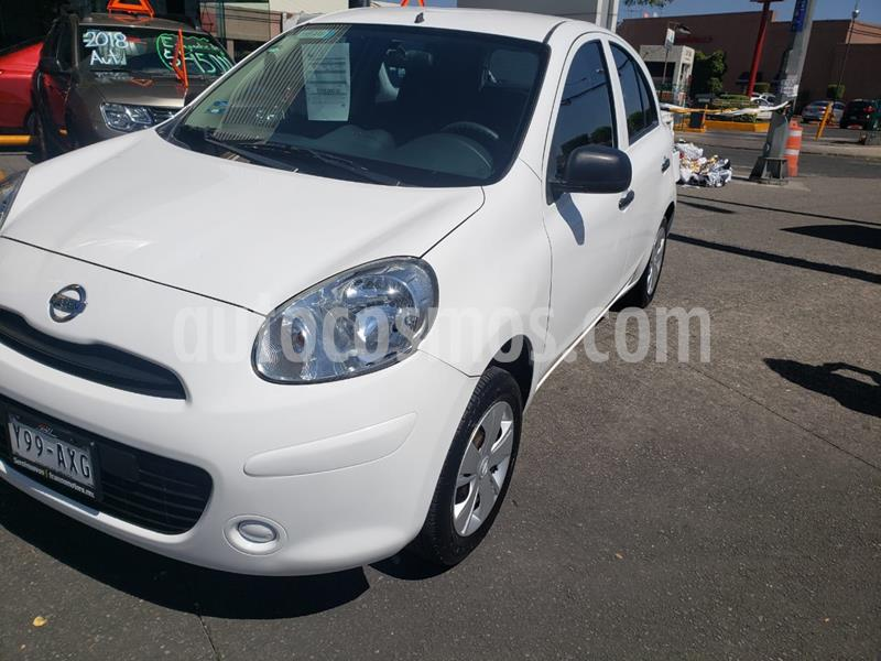 Nissan March Active Aire Ac usado (2018) color Blanco precio $125,000