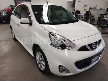 Nissan March Advance usado (2018) color Blanco precio $159,000