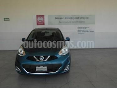 Nissan March 5P ADVANCE L4/1.6 AUT usado (2017) color Azul precio $178,000