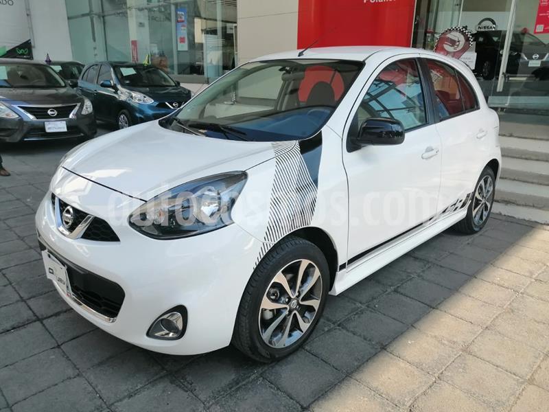 Nissan March SR NAVI usado (2017) color Blanco precio $205,000
